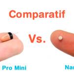 comparaison micro oreillette