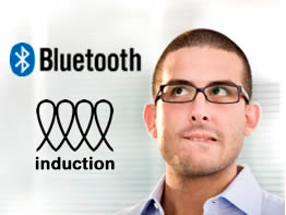 induction vs bluetooth